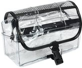 Kingsley Vinyl Clear Travel BAG Cosmetic Carry Case Toiletry