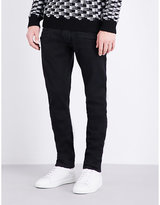 Balmain Slim-fit Tapered Stretch-cotton Jeans