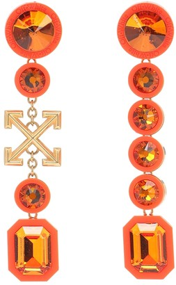 Off-White Embellished drop earrings