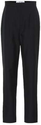 Loewe High-rise wool pants