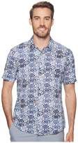 Puma Aloha Shirt Polo Men's Short Sleeve Button Up