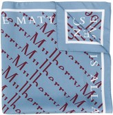 Mulberry all-over logo scarf