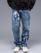 SAM by Warren Lotas Faded Blue Jeans Style B (Size 32)