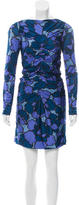 Marc Jacobs Printed Ruched Dress