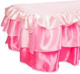 Tadpoles TadpolesTM by Sleeping Partners 3-Tier Ruffled Satin Twin Bed Skirt