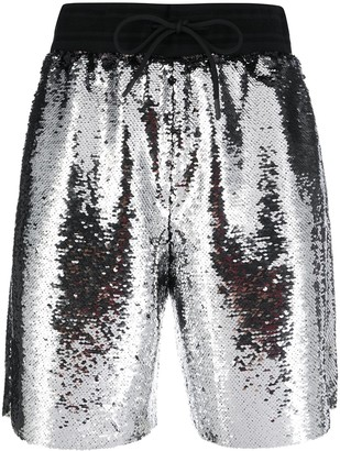 Golden Goose Sequin-Embellished Shorts