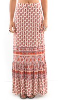 West Coast Wardrobe Margarita Printed Skirt in Spice
