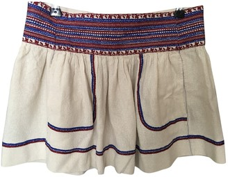 Etoile Isabel Marant Ecru Silk Skirt for Women