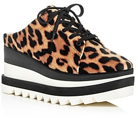 Stella McCartney Women's Platform Wedge Sneaker Mules