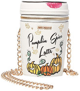 Betsey Johnson Kitsch Pumpkin Spice Crossbody