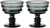 Kosta Boda By Me Grey Bowls