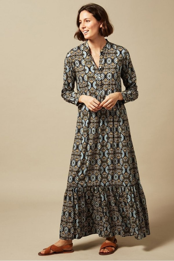 Thumbnail for your product : Hartford Riad Tiered Dress - 12