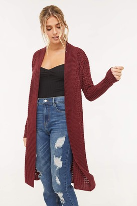 Ardene Knit Open Cardigan