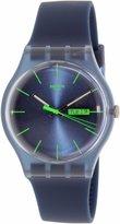 Swatch Men's Originals SUON700 Silicone Quartz Watch