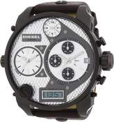 Diesel Men's DZ7126 Leather Analog Quartz Watch