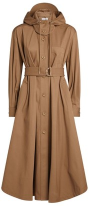 Kenzo Belted Pleated Coat