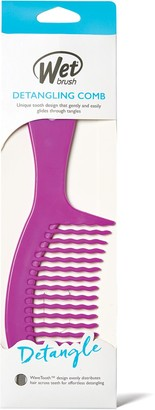 Wet Brush Detangling Comb Purple