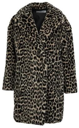 Harris Wharf London Leopard coat