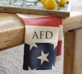 Pottery Barn American Flag Tea Towel