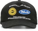 Off-White logo cap - men - Cotton - One Size