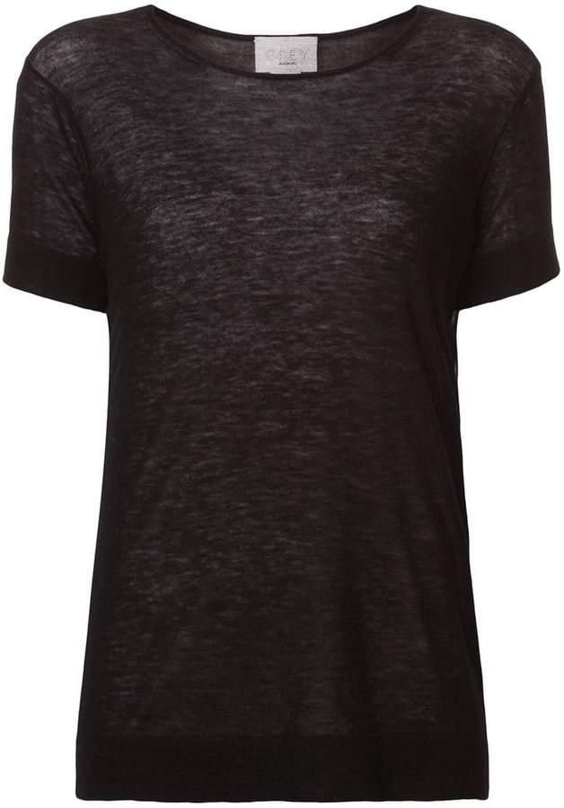 Jason Wu short-sleeve fitted sweater