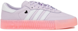 adidas Printed Leather Sneakers