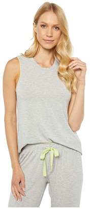 PJ Salvage Dream in Color Tank (Heather Grey) Women's Clothing