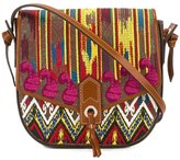 Etro embroidered satchel - women - Cotton/Calf Leather/Polyester/PVC - One Size