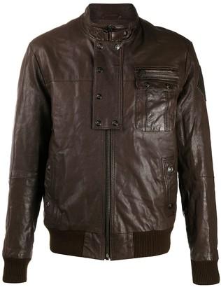 Puma Bomber Style Leather Jacket