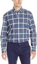 Izod Men's Long Sleeve Button Down Oxford Woven Shirt