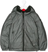 Ai Riders On The Storm Kids zipped hooded jacket
