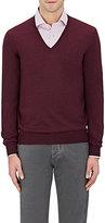 Barneys New York Men's Virgin Wool V-Neck Sweater