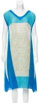 Issey Miyake Pleated Midi Dress