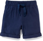Old Navy Cuffed Jersey Pull-On Shorts for Baby