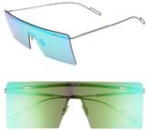 Christian Dior Men's Hardior 65Mm Sunglasses - Palladium/ Green