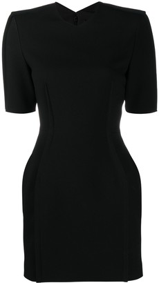 Versace Structured Mini Dress