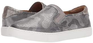 Trask Lillian (Pewter Camo Metallic Suede) Women's Slip on Shoes
