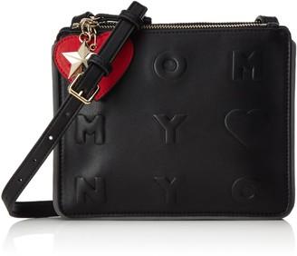 Tommy Hilfiger Womens AW0AW03700 Cross-Body Bag Black Size: 3x17x21 cm (B x H x T)