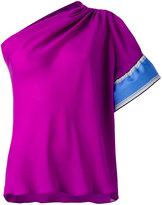 Emilio Pucci one-shoulder blouse