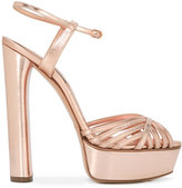Casadei strappy platform sandals - women - Calf Leather/Leather/Kid Leather - 39.5
