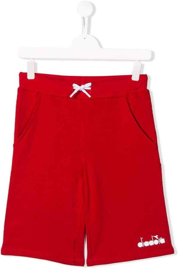 Diadora Junior drawstring shorts