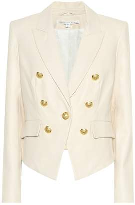 Veronica Beard Cooke leather blazer