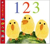 Bed Bath & Beyond Alphaprints: 123 Board Book by Roger Priddy