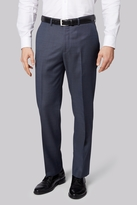 Ermenegildo Zegna Cloth Regular Fit Blue Semi Plain Trousers