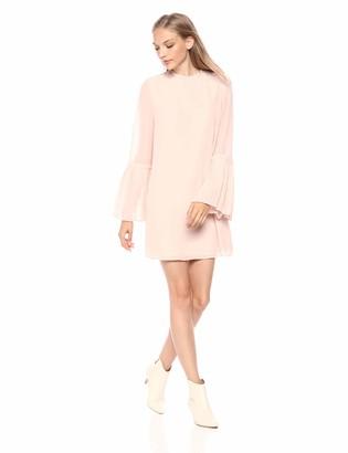 Cupcakes And Cashmere Women's Malina Pleat Detail Shift Dress