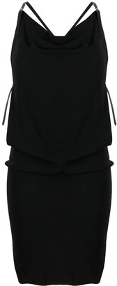DSQUARED2 Cowl-Neck Panelled Dress
