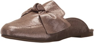 Rampage Women's Dianna Flat Slip-On Bow Tie Mule