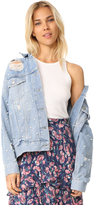 Free People Sunday Funday Trucker Jacket