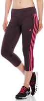adidas Basic 3-Stripe Three-Quarter Tights