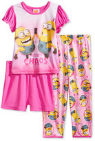 Despicable Me 3-Pc. Pajama Set, Toddler Girls (2T-5T)